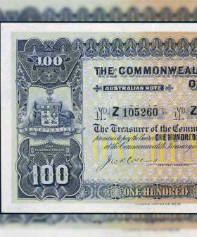 Rare 1914-Era Australian Note Expected To Fetch $350,000 At Auction