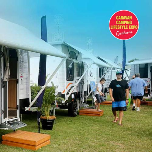 The Canberra Caravan and Camping Lifestyle Expo is coming to Exhibition Park
