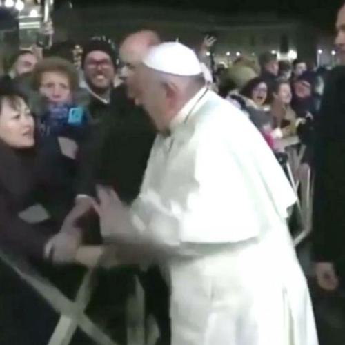 Pope Francis Apologises For Slapping Away A Woman's Hand To Free Himself