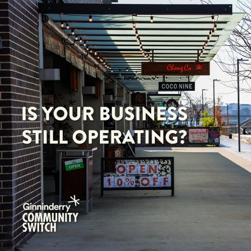 Ginninderry Community Switch Business Booster