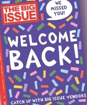 Street Selling Returns for Iconic Magazine