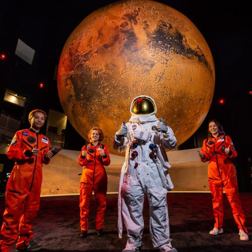 Go on a Mission to Mars at Questacon!