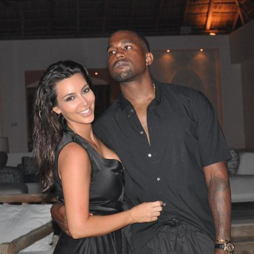 Kim Kardashian & Kanye West Reportedly Living Apart (For Now)