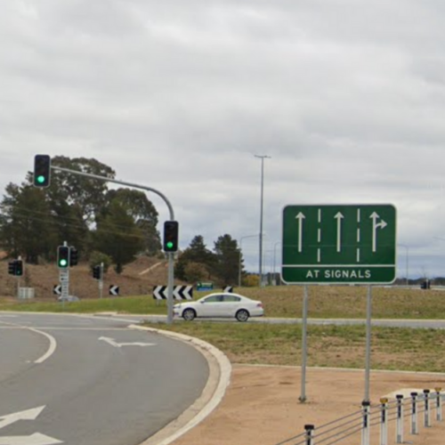 A.B Has Decided To Visit & Rate Every Roundabout In Canberra