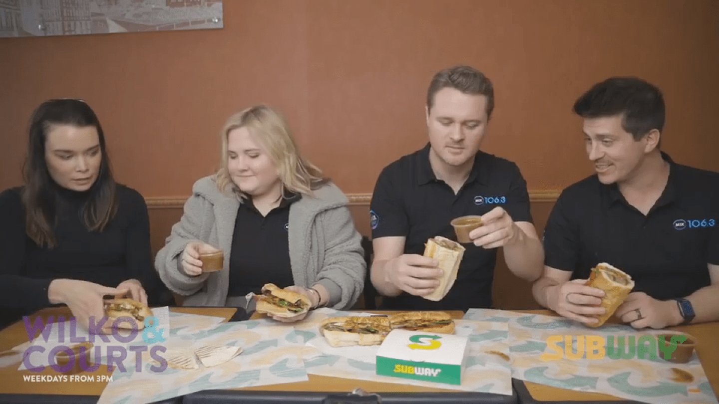 Subway Mini Mukbang