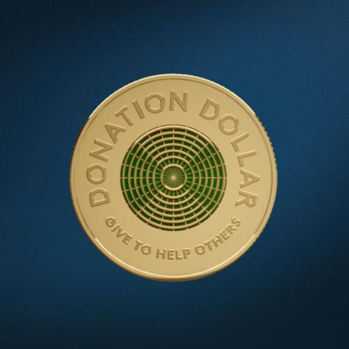 Royal Australian Mint Launches World's First 'Donation Dollar'