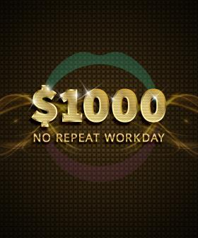 Mix106.3's One Thousand Dollar Workday