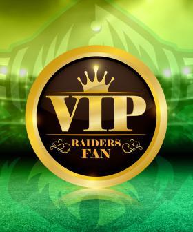 Nige & Tamara's Raiders VIP
