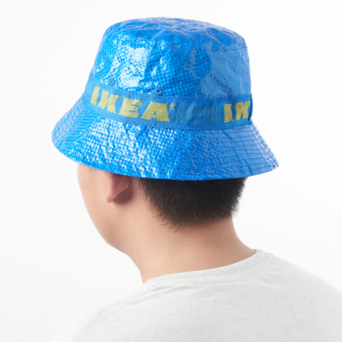 IKEA's Iconic Blue Shopping Bags Have Been Transformed Into A Hat!