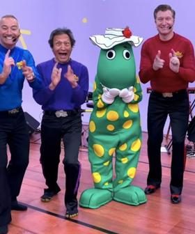 Original Purple Wiggle Jeff Has Returned To 'The Wiggles'!