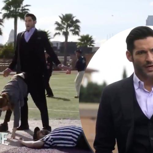 We've Got A Sneak Peek For Part 2, Season 5 Of Lucifer & It's... Weird!