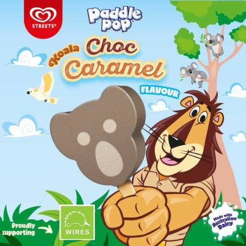 Paddle Pop Launches Koala Choc Caramel in Partnership with WIRES