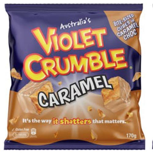The World's Gone Topsy Turvy Because There's White Chocolate Caramel Violet Crumble?!