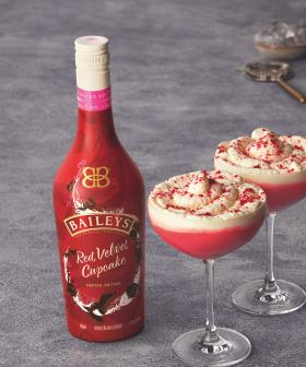 Baileys Have Dropped A 'Red Velvet Cupcake' Flavour Drink!