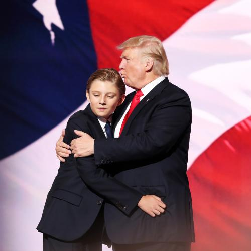 Donald Trump's Son Barron Tests Positive For COVID-19