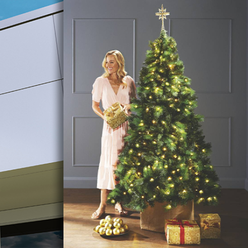 This Is When You Can Get Your Hands On Aldi's $99 Pre-Lit Christmas Tree Again