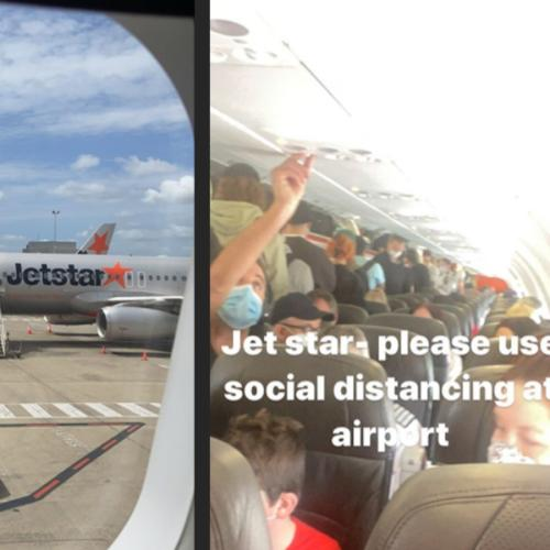 MAFS Hayley Vernon Shows Us The Reality Of Crowded Jetstar Flight
