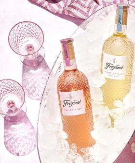Add Some Glamorous Sparkle to Your Glass With This Hella Boujee Wine From Freixenet!