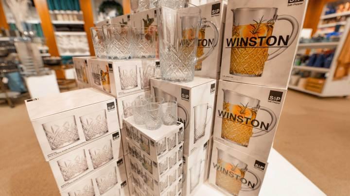 Glassware Christmas presents