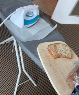 A.B's Sister Who's In Hotel Quarantine Made Toast With An Iron