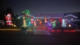 House Circuit Banks Christmas Lights