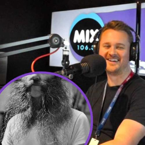 Wilko and AB found a Canberra man who hasn't cut his hair in 25 YEARS!