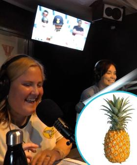 The Shocking Fact AB Learnt About Pineapples... You Won't See Her Eating Them Again