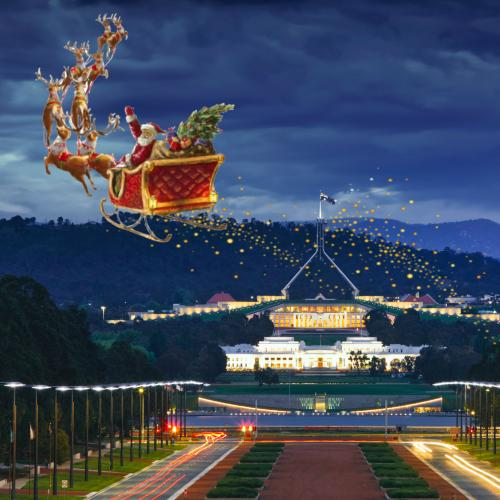 Santa cleared for Canberra visit