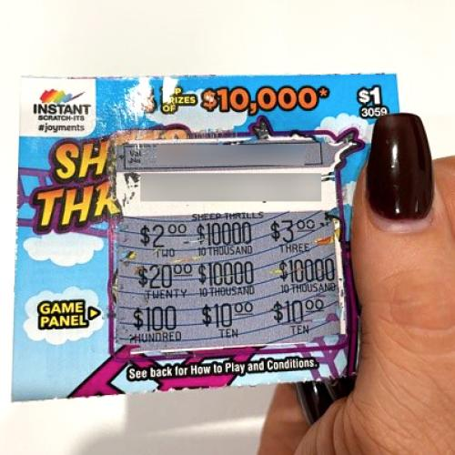 Lucky Canberran almost bins $10,000 scratchie