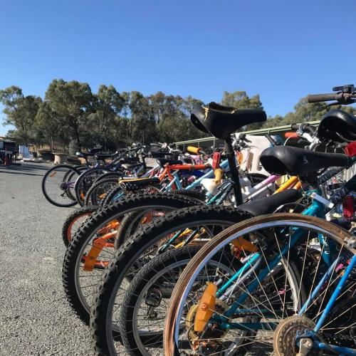 Green Shed to give away FREE second hand bikes this weekend