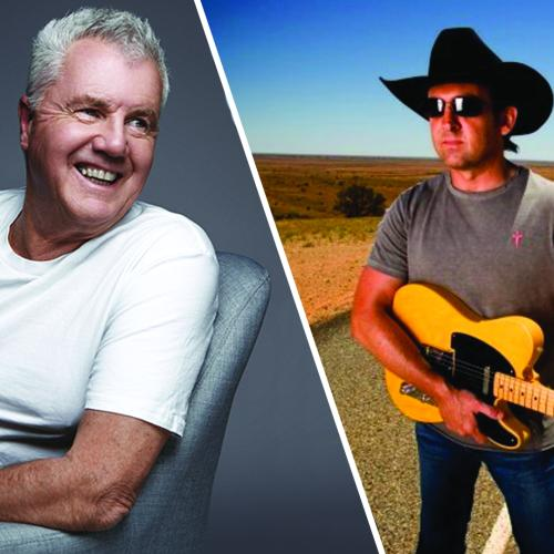 Daryl Braithwaite and Lee Kernaghan celebrate Aus Day in Canberra