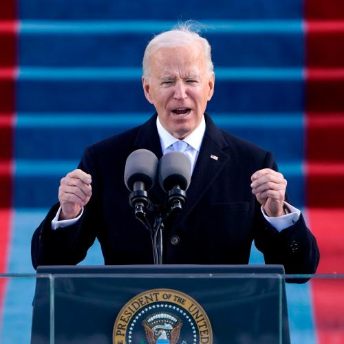 Joe Biden Sworn In As US President