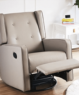 Aldi's Special Buys Rocking Chair Is Back & It Now RECLINES