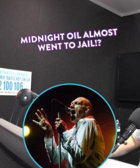 Peter Garrett Nearly Landed Midnight Oil in American Jail!