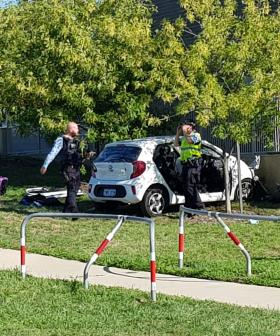Driver and child taken to hospital following serious crash in Gungahlin