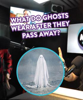 Help Kristen & Nige Settle This Debate: What Do Ghosts Wear After They've Passed Away?