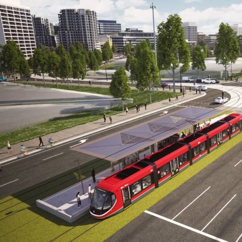 Federal Government taps on for light rail to the lake