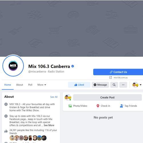Facebook ban takes Mix offline