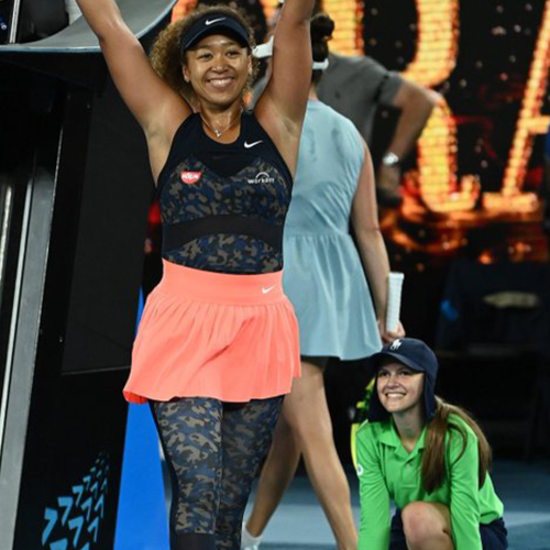 Australian Open Ballgirl Goes Viral After Naomi Osaka Spots Her In Celebratory Photo