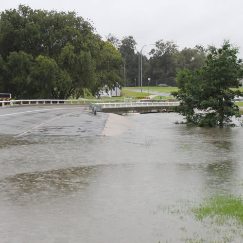 Queanbeyan's Morrisset road closed as river continues to rise