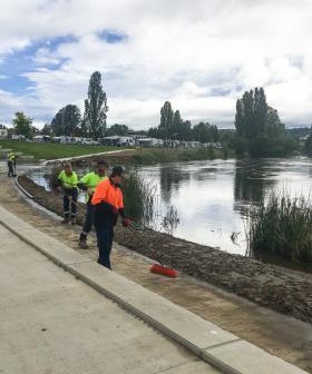 Wet weather clean-up underway