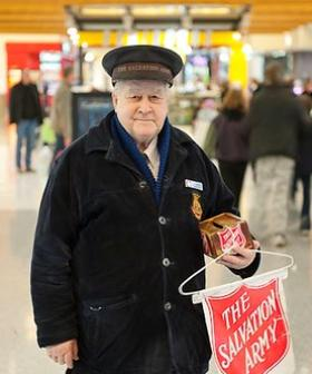 Canberra icon 'The Salvos Guy' cashes his final donation