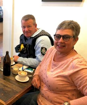 Canberra's cops shouting cuppas and lending an ear