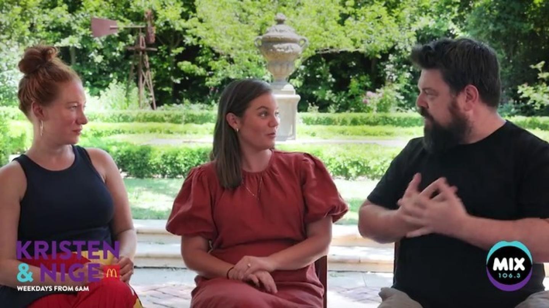 Kristen & Nige Ask Tamara Some Burning Question