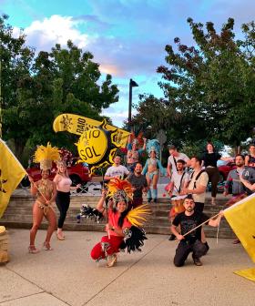 Canberrans bring the Samba to Sydney's Mardi Gras