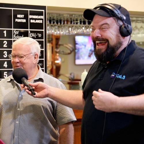 Kristen and Nige Interviewed Queanbeyan's Unofficial Mayor and Local Legend, The Hilarious Uncle Gaz