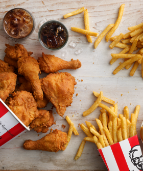 KFC's Doing Free Delivery For Two Weeks Celebrating It's New Delivery Service