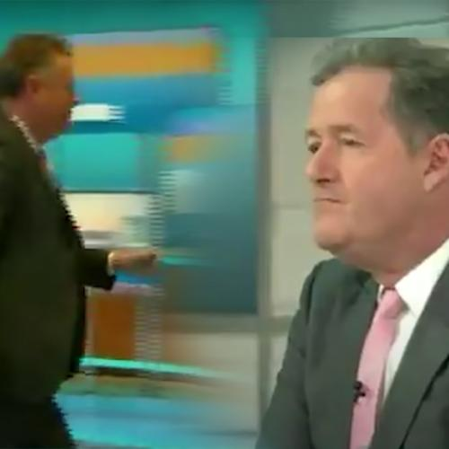 Piers Morgan Quits 'Good Morning Britain' After Storming Off Set Earlier This Week