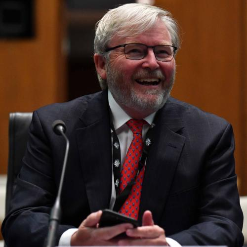 Former PM Kevin Rudd Mistaken For Uber, Actually Obliges To Drive Boozy Lot