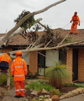 Wearing orange for our SES Volunteers